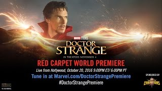 Marvel's Doctor Strange Red Carpet Premiere