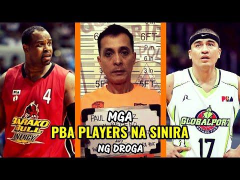 Mga PBA Players na SINIRA NG DROGA