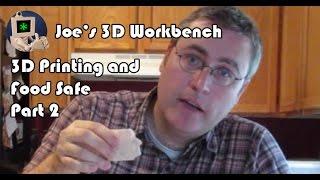 Are 3D Prints Food Safe?
