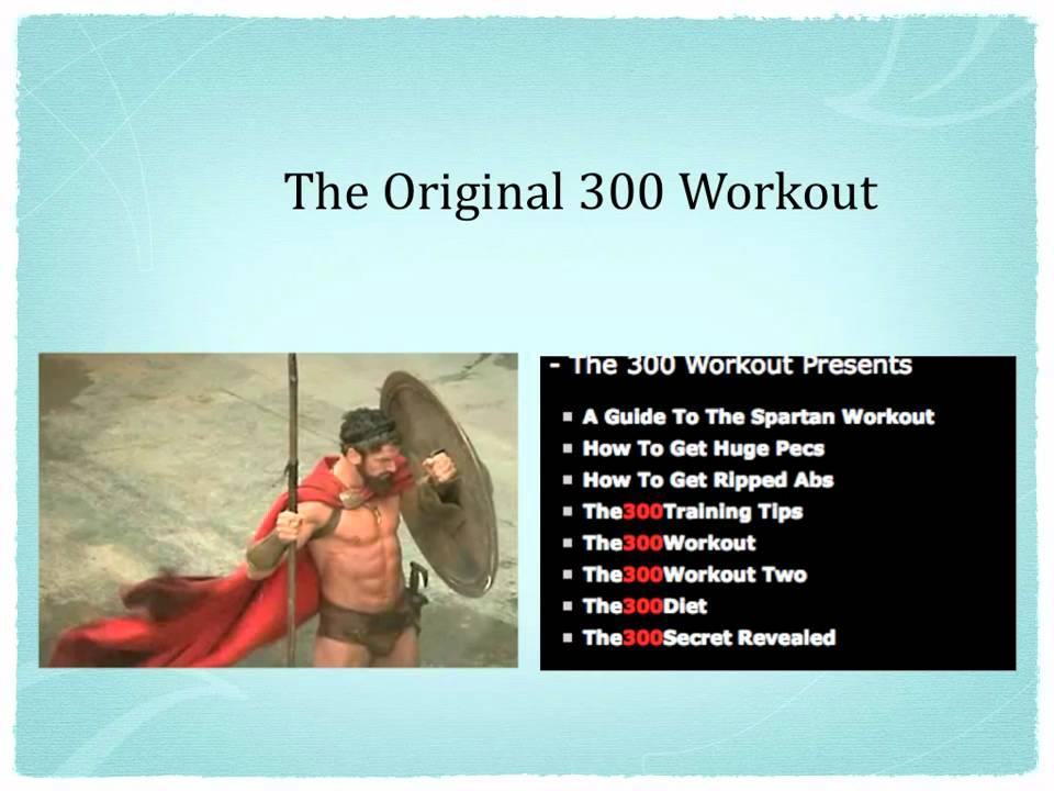 300 Workout Pdf