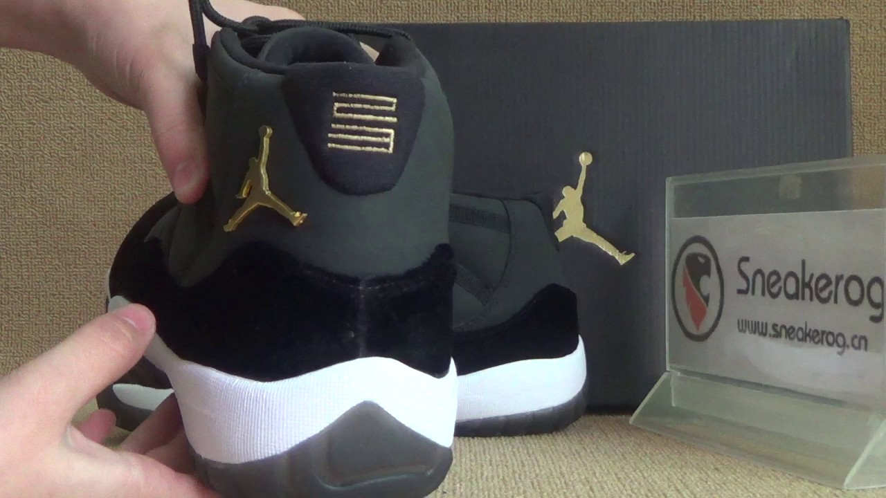 0ed4ef768e50a3 authentic air jordan 11 chinese new year custom made review from  sneakerog.cn