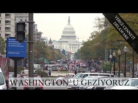 Washington`u geziyoruz ve Vergi Cenneti Delaware! Vlog #21