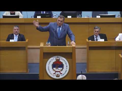 Milorad Dodik - Velika je razlika kad se na javnom mjestu slikas sa mafijasima (BN Televizija 2019)