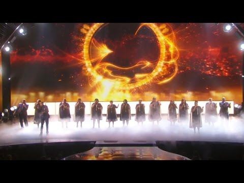America's Got Talent 2015 S10E19 Live Shows - Selected of God Choir