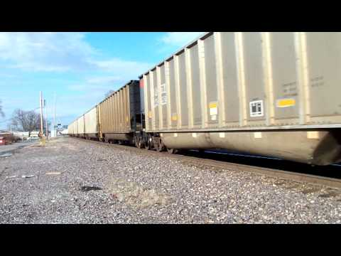 **400th Video** Very Fast Union Pacific #5969 Coal Train, Great Horn