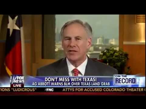 Greg Abbott Warns Bureau of Land Management Over Texas Land Grab on Fox News with Greta Van Susteren