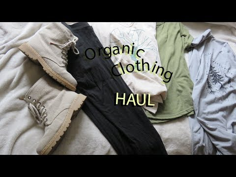 Organic, Sustainable Clothing Haul (Soul Flower, Maggies & Rawganique) | Empathy Manifest
