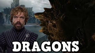 Game of Thrones Season 7 Tyrion Lannister and The Dragons -  Possible Trailer Spoiler