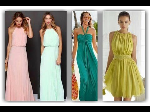 258224f15 Vestidos para invitadas a boda 2019