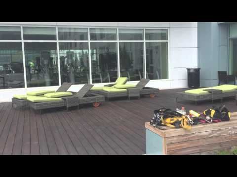 Waterside Place Rooftop Common Areas Business and Fitness Center