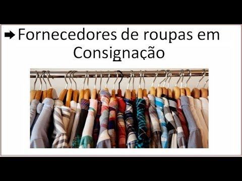 b3149c606 Fornecedores de roupas em consignação Veja aqui os contatos - YouTube