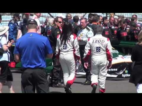Girl in Heels takes on Indy 500