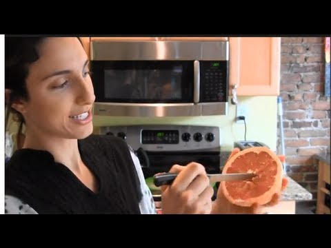 Take the bitterness out of grapefruit
