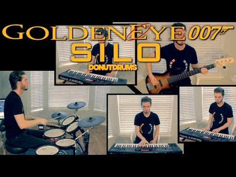 GoldenEye 007 | Silo N64 [Drum/Bass/Keyboard Cover] DonutDrums
