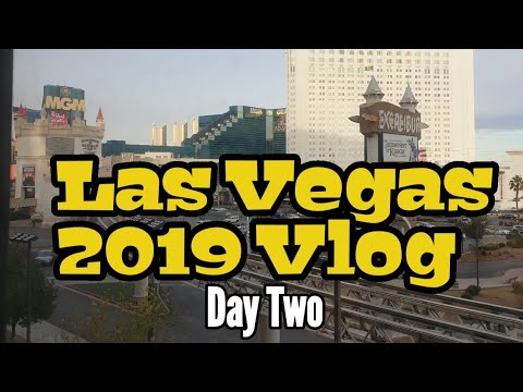 Las Vegas Vlog 2019 Day Two | Zumanity | Park MGM | Mirage | Circus Circus | The Linq | O'sheas