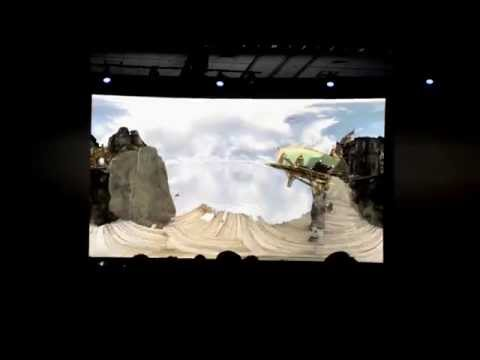 DreamWorks Virtual Reality 360 Degree 'Super Cinema' Format
