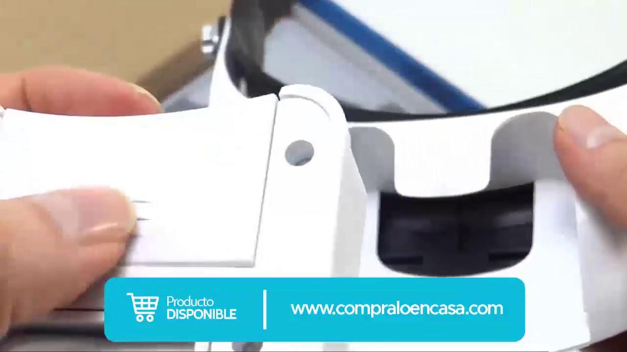 625b0ce23c Lupa Led Visera + 5 Lentes Aumento Diadema Joyería Relojería - YouTube