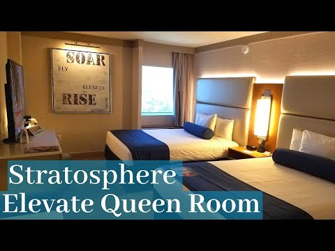 Stratosphere Las Vegas - Elevate Queen Room *newly Remodeled*