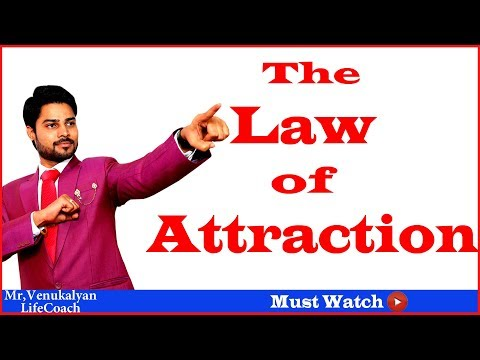 The Law Of Attraction By | Mr.Venu Kalyan | Telugu