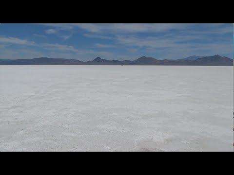 The Road To Yellowstone Part 10. Salt Flats And Deserts