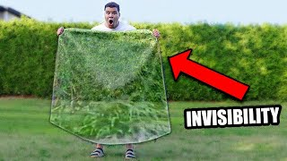 Testing a Real INVISIBILITY SHIELD (does it work?)