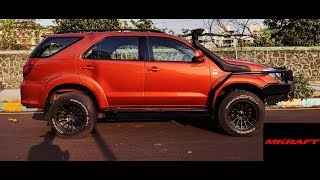 (4k) Most Badass Toyota Fortuner You Will See !