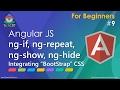 AngularJS: ng-if, ng-repeat, ng-show, ng