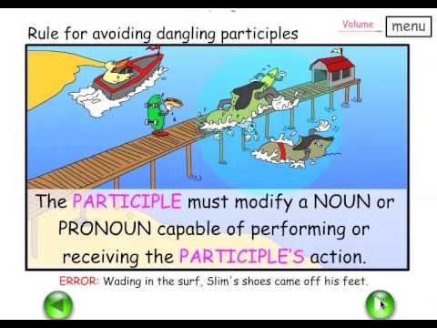 Teach dangling modifiers participles easy english grammar youtube teach dangling modifiers participles easy english grammar ccuart Gallery