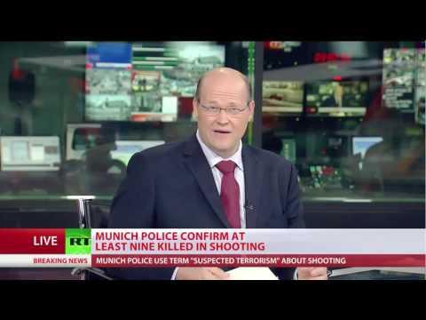 Daily English World News --- Munich Shooting (RT)