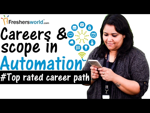 Careers and Scope in the field of Automation Industry - Home,Industry,Software company,Recruiters