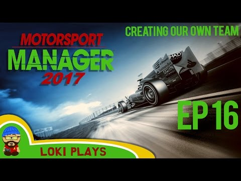 🚗🏁 Motorsport Manager PC - Lets Play EP16 - Loki Doki Don't Crash - F1 Manager