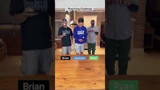 Ping Pong Bounce Challenge!!🏓🏓🏓