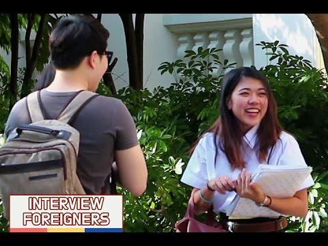 외국에서 한국말로만 길을 물어 봤을 때 사람들 반응 (태국 편)