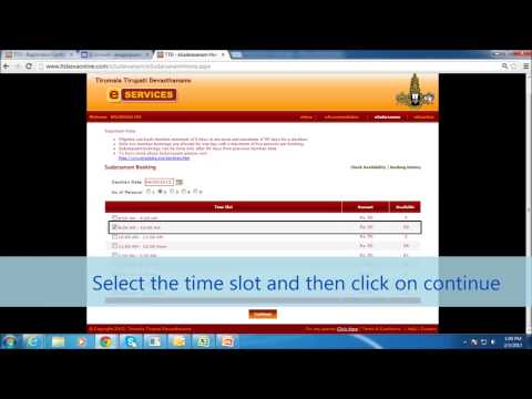 Nithyacaars-TTD online darshan ticket booking procedure,accommodation,seva,edonation process