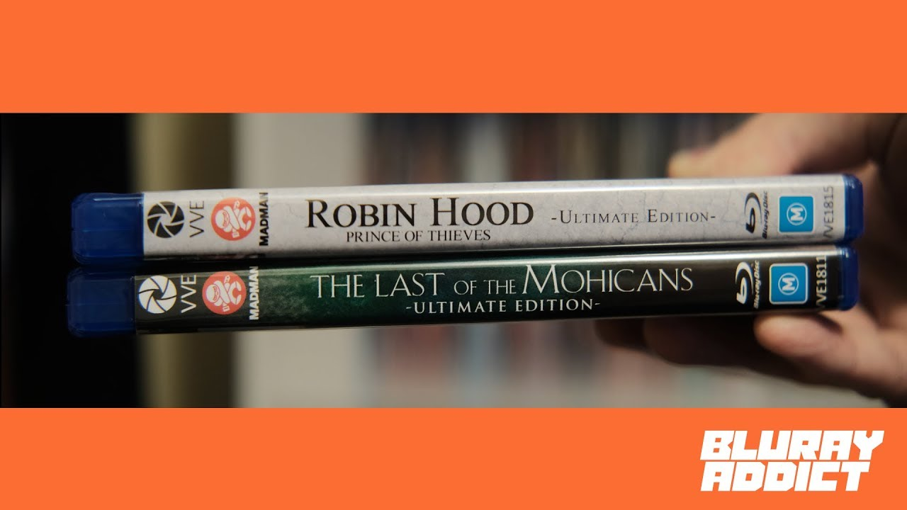 Download Robin Hood & The Last Of The Mohicans Definitive Editions Bluray Review