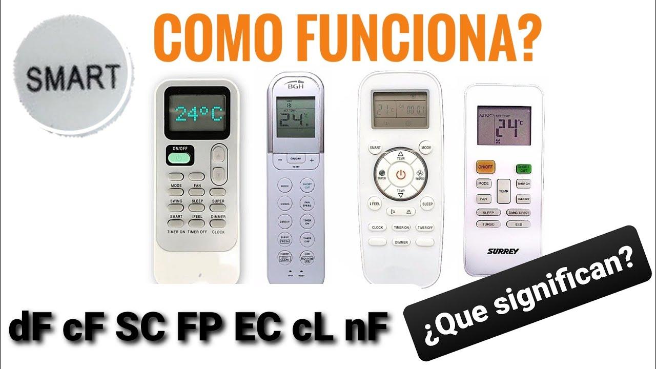 Funciones Control Remoto Aire Acondicionado - Especiales y Letras en Display - Parte 2