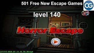 [Walkthrough] 501 Free New Escape Games level 140 - Horror escape - Complete Game