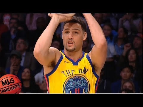 watch e8012 53ab8 Klay Thompson Full Three Point Contest / Feb 17 / 2018 NBA All Star Weekend