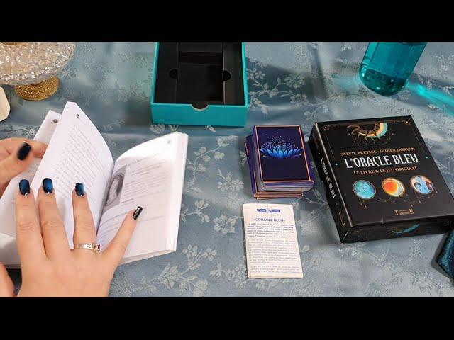 Coffret L'oracle bleu, de Didier Doryan et Sylvie Bresse, ed. Trajectoire