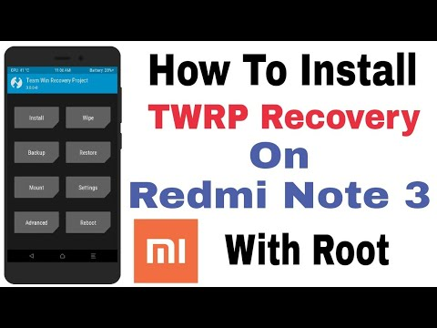 how-to-install-twrp-recovery-on-redmi-note-3-with-root