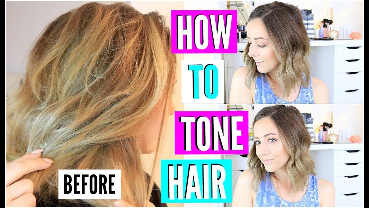Diy hair toner for brassy blonde hair youtube solutioingenieria Gallery