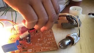 como testar a placa no aparelho em funcionamento { geladeira frost free}