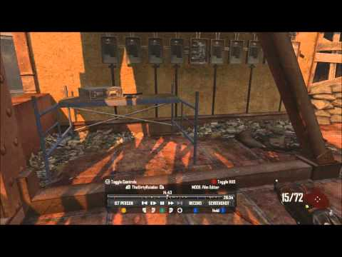 Black Ops 2: Zombies: Free Perk + 2k points on Die Rise Monkey Round Walkthrough
