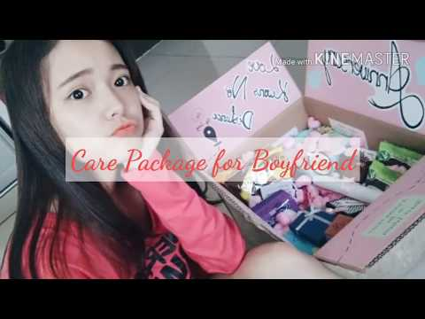 Care Package for Boyfriend 🌸 FIRST ANNIVERSARY GIFT