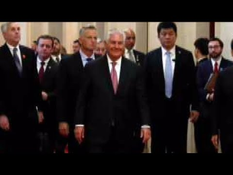 "Tillerson: U.S. ""probing"" possible talks with North Korea"