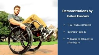 Down a Ramp in a Wheelie: SCI Empowerment Project Wheelchair Skills Video 10