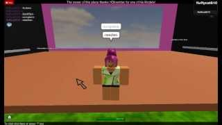 My Dance audition for HDD on Roblox
