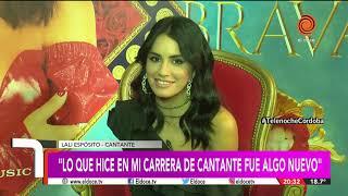 Lali estuvo en Córdoba y habló con El doce