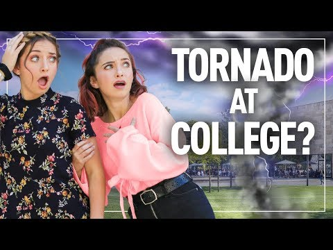 Tornado at College? This is What Happened…