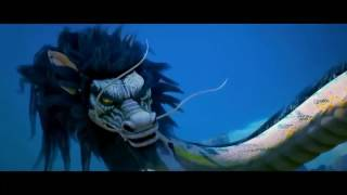 Eastern dragon vore & mawshot (Monkey King: Hero Is Back)